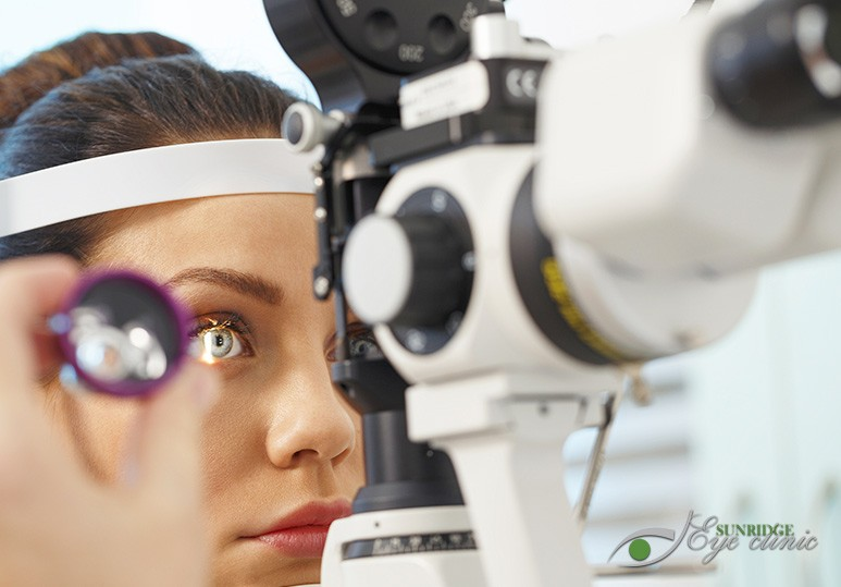 Diabetic Retinal Examination and Sunridge Mall Eye Clinic