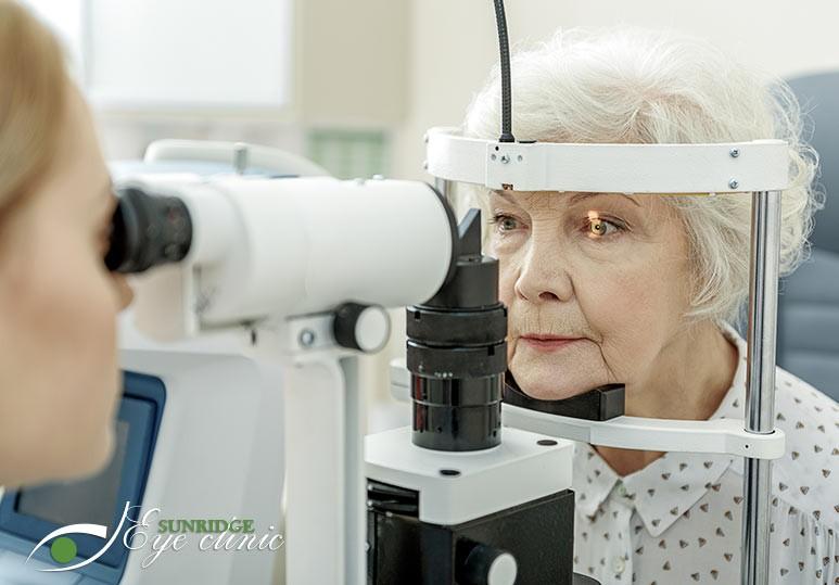 eye exam calgary